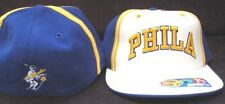 PHILA WARRIORS HAT NEW 7 1/4 CAP D'FUNKD FITTED 76ERS PHILADELPHIA GOLDEN STATE