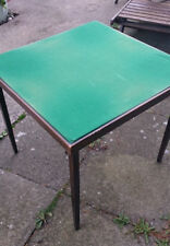 Vintage VONO Card Table with Folding Legs