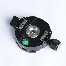 Panoramic Base Tripod Head Quick Release Plate Panning Clamp Rotator Mount Adapt