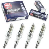4 Bosch Double Platinum Spark Plugs For 2013-2019 NISSAN SENTRA L4-1.8L