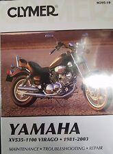 Clymer Repair Manual Yamaha XV535 XV700 XV750 XV920 XV1000  XV1100 81-03 M39510
