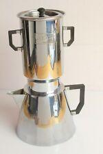 More details for french art deco sélecta chromed coffee pot pour over drip percolator bakelite