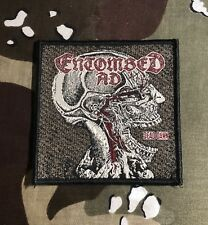 Entombed AD Skull Woven Patch E006P Dismember Carnage Carcass Cannibal Corpse
