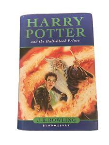 Harry Potter and the Half Blood Prince - JK Rowling - Hardback