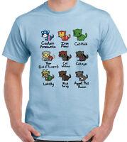 Cat Avengers Mens Funny T-Shirt Thor The Hulk Iron Man Captain America Kitten