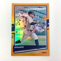 MLB 2020 Panini Donruss Orange Holo Nickname Gigante Parallel Card Jose Altuve