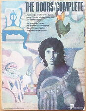 Rare The Doors/Complete - 1970 Paradox Music Group - Pictures, Notes, Lyrics
