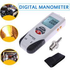 Digital Manometer LCD Differential Air Pressure Meter Gauge 2Psi ±13.79Kpa US