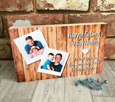 Daddy Gift, Father's Day Gift, Personalised Daddy Photo Block, Dad Photo Gift