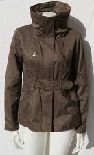 ANDREW MARC New York Women's Brown Cotton Hood Jacket Coat size S M