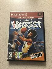 NBA Street vol 1 Greatest Hits-w/manual (Sony PlayStation 2, PS2)Tested