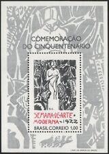 BRAZIL, 1972. Souvenir Sheet Modern Art 1222, Mint