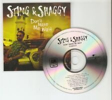 "STING & SHAGGY ""DONT MAKE ME WAIT"" NEW BRAZILIAN  8 REMIX CD PROMO"