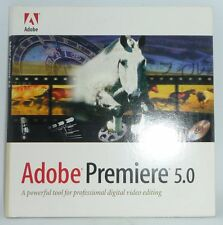 Adobe Premiere 5.0 Upgrade Version for Macintosh