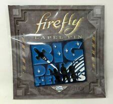 New Loot Crate QMX Firefly Serenity Big Damn Heroes Blue Label Pin Enamel FP20