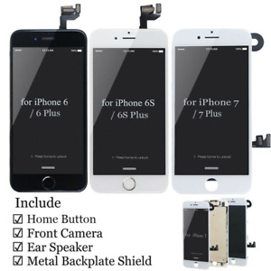 OEM Screen Replacement LCD Display Touch Assembly Camera For iPhone 8 7 6s Plus