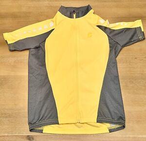 Cannondale Small Polyester Cool Jacket Yellow Women's Biking Jersey