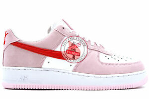 Nike Air Force 1 07 QS Valentine's Day Love Letter  - DD3384-600