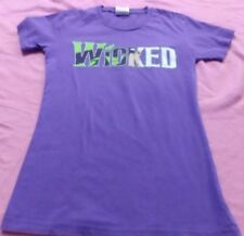 Wicked The Musical Witches T Shirt  Broadway Women's Sz S Purple Awesome