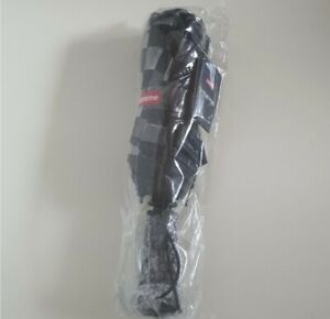 New and unopened SS20 Supreme ShedRain transparent Checkerboard umbrella black