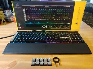 Corsair K95 RGB Platinum Mechanical Gaming Keyboard - Black