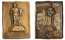 Placchetta  Associazione Nazionale Alpini Sezione di Biella #KP185