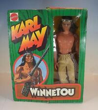 Mattel Big Jim No.9404 Karl May Winnetou Figur von 1975 OVP #459
