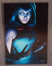 DC Teen Titans Raven Glossy Art Print 11 x 17 In Hard Plastic Sleeve