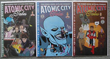 ATOMIC CITY TALES #1-3 SET..JAT STEPHENS..KITCHEN SINK 1996 1ST PRINT..VFN