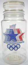 1984 Los Angeles Olympic Games M&M's ANCHOR HOCKING CANDY JAR Olympiad XXIII