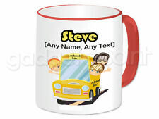 Personalised Gift School Bus Mug Cup Student Transport Bus Driver Present Fun #1