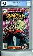 TOMB OF DRACULA 55 CGC 9.6 WHITE PAGES 4/77 Marvel Comics NEW CGC CASE