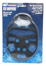 Winter Guard Non Slip Ice Grippers Spike Boots Shoes Snow Extra Grip One Size