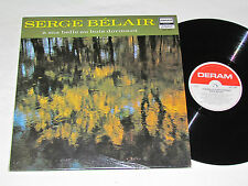 SERGE BELAIR A Ma Belle Au Bois Dormant LP 1971 Deram Records Quebec DEF-1005 VG