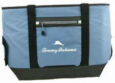 Tommy Bahama 30 Can Beach Bag Cooler Sport Tote Microban Tech in Blue - NEW