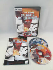 PC CD-Rom - Star Wars Galactic Battlegrounds Saga - Clone Campaigns