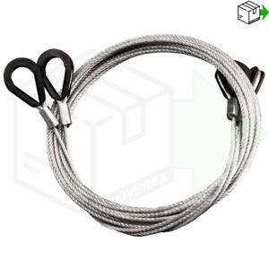 NEW GARADOR CABLES PAIR Wires Doors Garage Door Spares Mk3c Westland Catnic Mk3