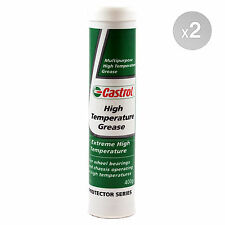 Castrol High Temperature Grease 400g Cartridge 2 x 400g 800g