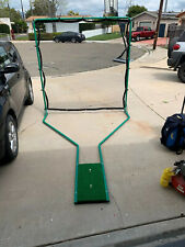 golf Sports practice driving net System With Mat, Tees, 2 Nets NIB