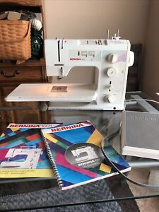Bernina 1031 Sewing Machine, Foot Controller, and Manual