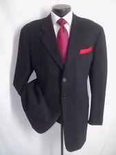 Giorgio Armani Black Plaid 3 Buttons Wool vintage Jacket Coat 44 R