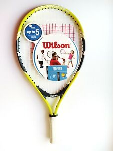 """Wilson Federer 19"""" Youth 3.5"""" Tennis Racquets Ages Up To 5 Years WRT20140U"""