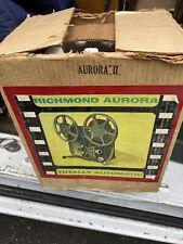 Vintage Retro Richmond Totally Automatic 8mm Movie Projector Aurora Ii
