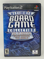 Ultimate Board Game Collection (Sony PlayStation 2, 2006) COMPLETE Tested PS2
