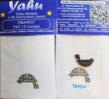 Yahu Models YMA4837 1/48 PE Vought F4U-1A Corsair instrument panel Tamiya