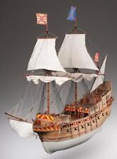 "Ornate, Intricate Wooden Model Ship Kit by Dusek: the ""San Martin"""