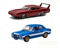 Dodge Charger and Ford Escort Model Car Set from Fast And Furious 6 GL86251