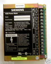 Siemens 4300 Power Meter Model DC-120