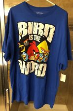 Angry Birds Blue Graphic T Shirt Short Sleeve size XXL 2XL NEW NWT