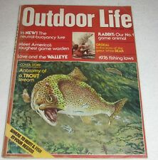 Vintage Magazine~OUTDOOR LIFE~April,1976~Fishing,Hunting,etc.~Showdown in West
